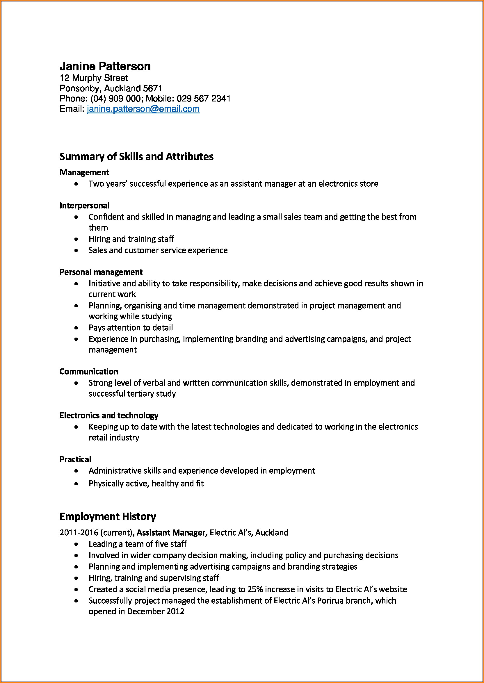 Termination Of Employment Letter Template Nz