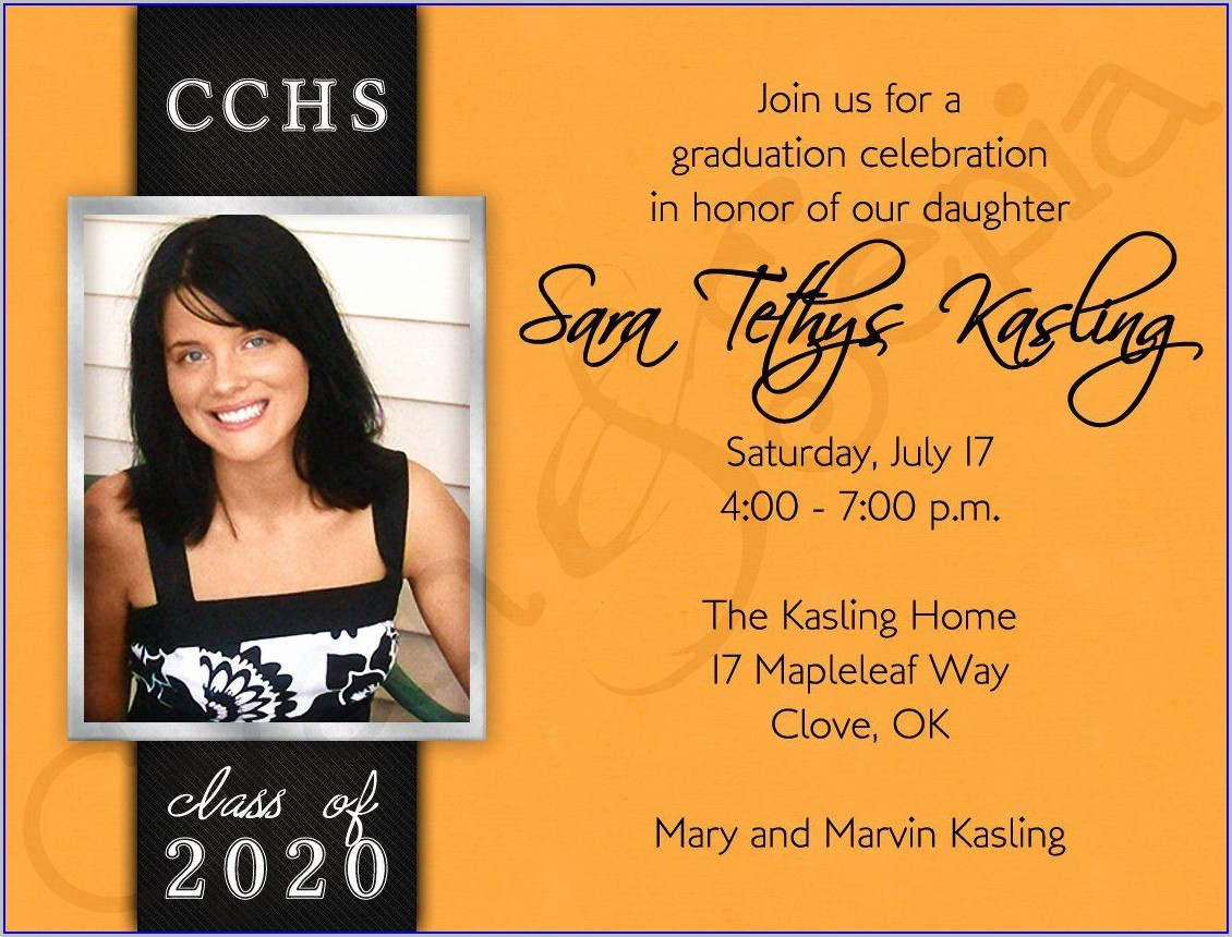 Walgreens Graduation Invitations 2019