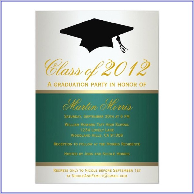 Walmart Graduation Invitations 2019