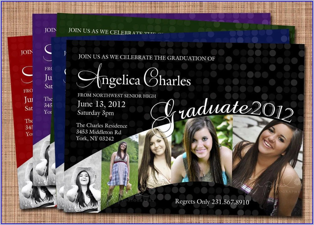 Walmart Graduation Invitations Photo