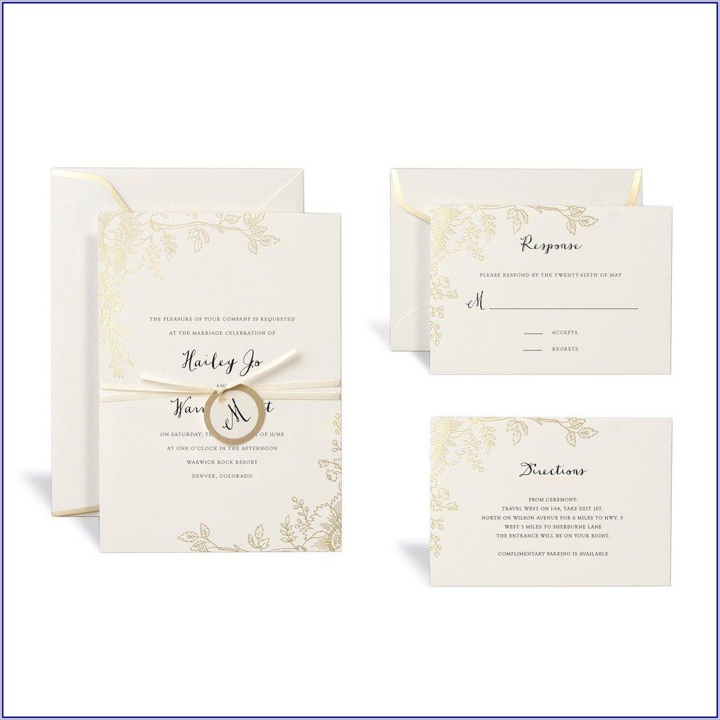 Wedding Invitation Kits Canada