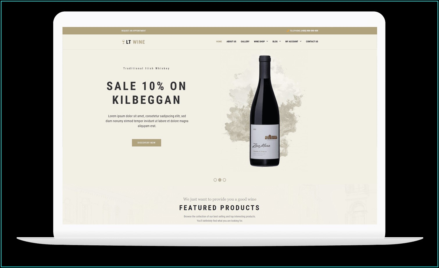 Wine Shop Business Plan Template