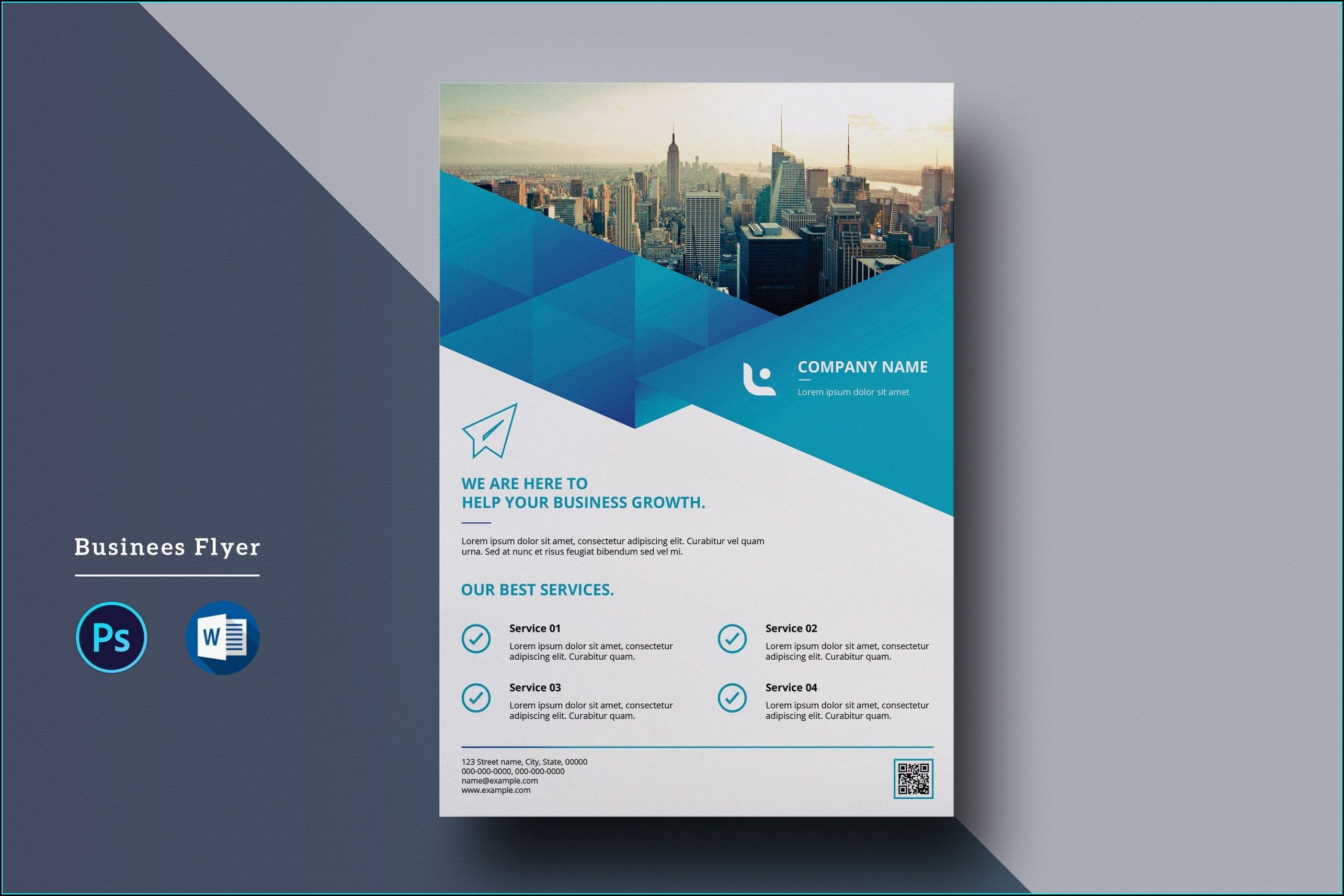 Word Flyer Template Free Download