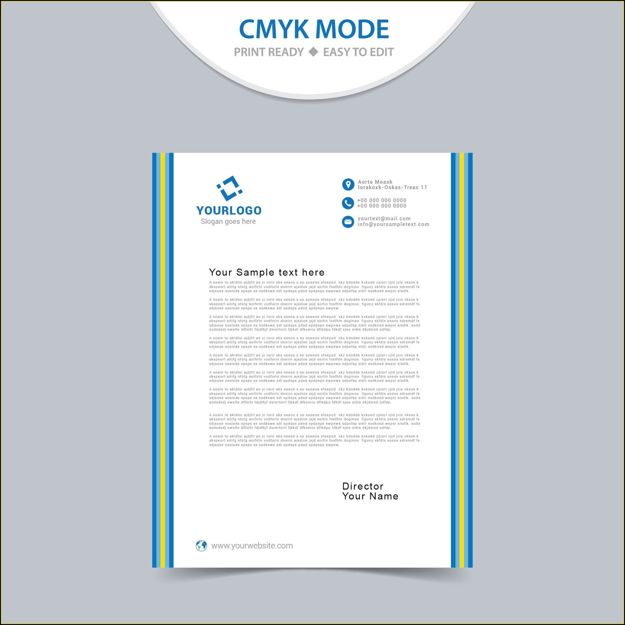 Word Template For Letterhead