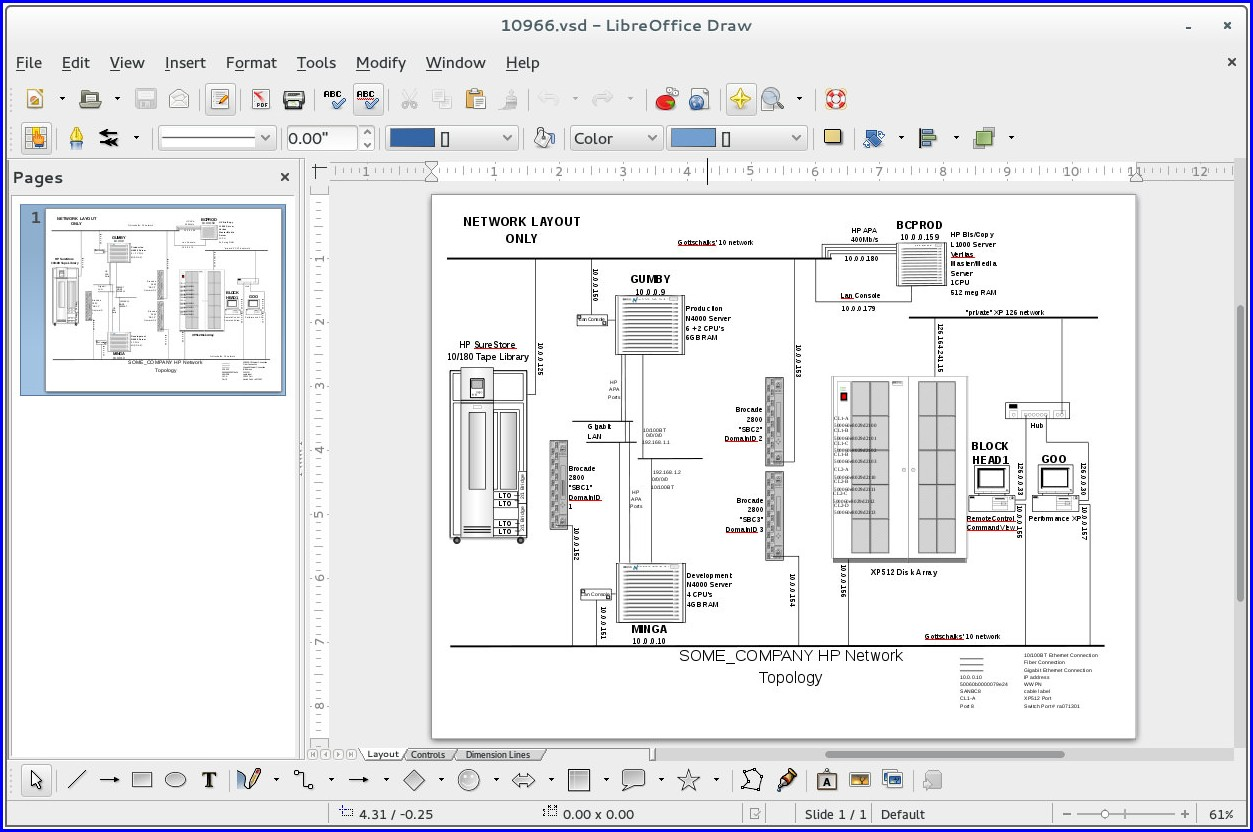 Workflow Diagram Microsoft Visio