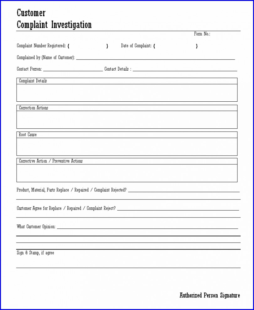 Workplace Accident Investigation Report Template