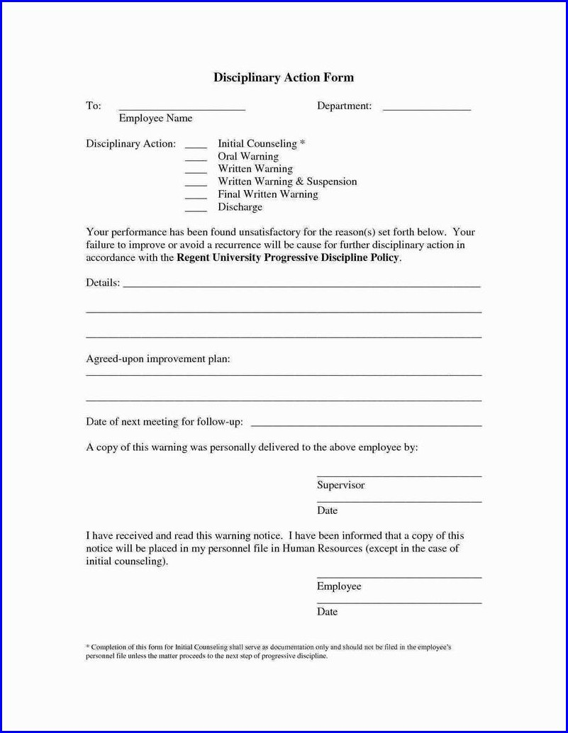 Workplace Employee Incident Report Template
