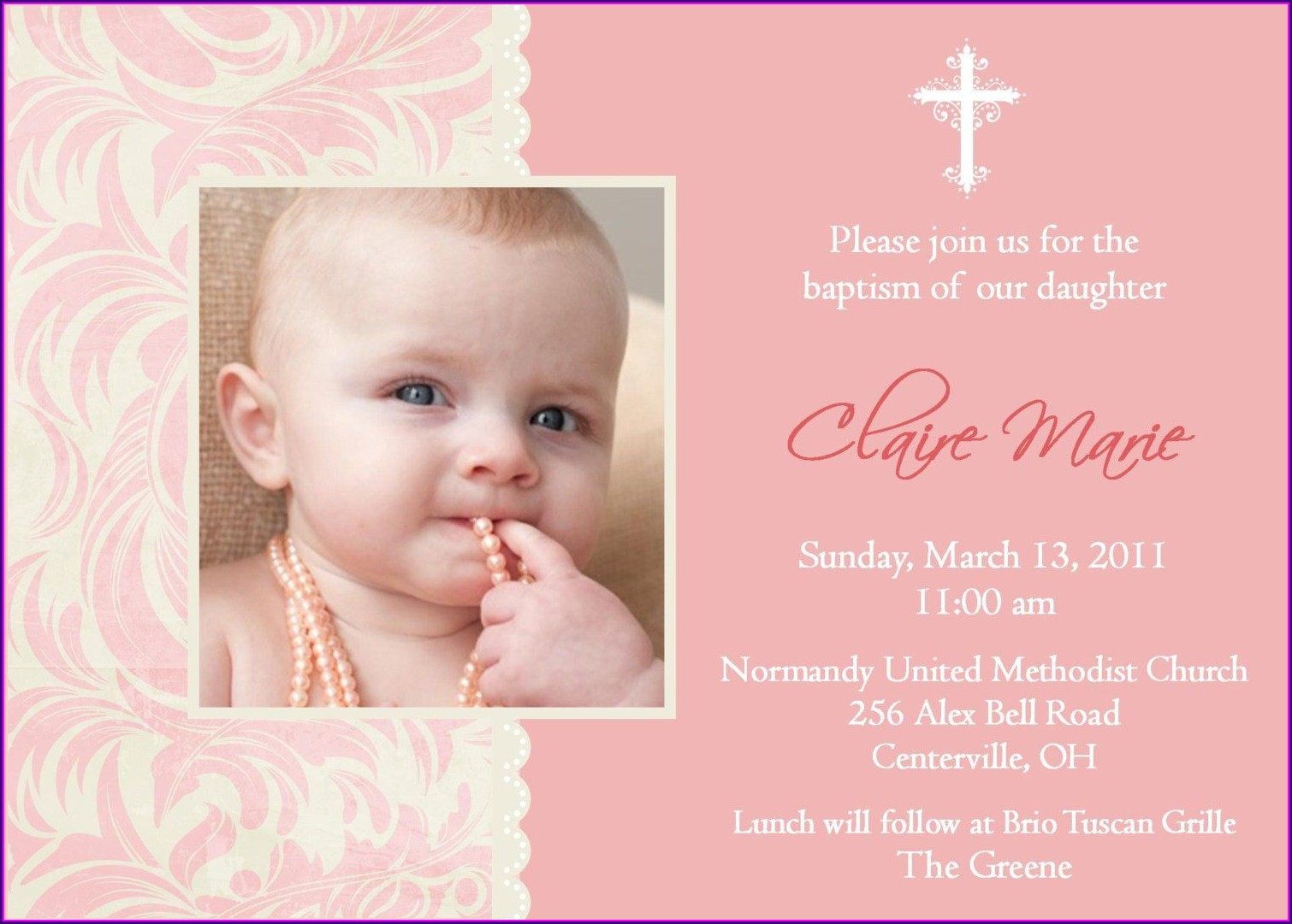 1st Birthday Invitations Girl Wording
