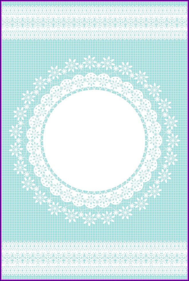 Blue Wedding Invitation Background Hd
