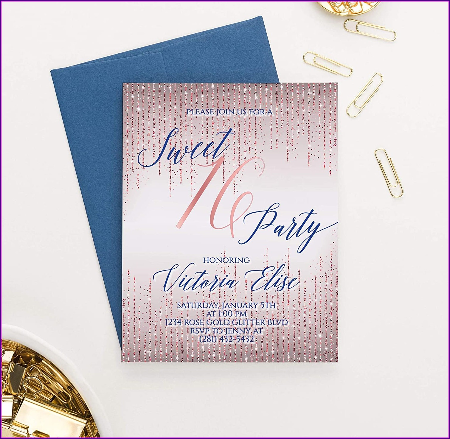 Cheap Sweet 16 Invitations Under 1