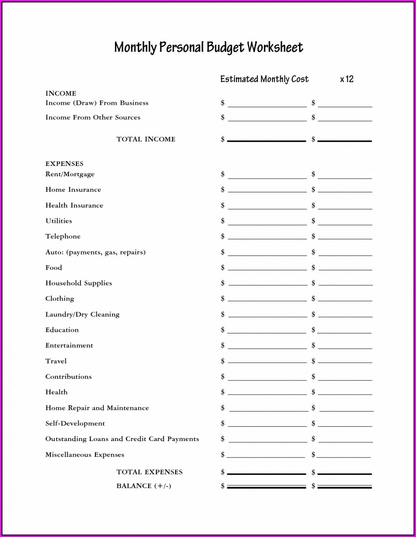 Expense Report Business Expenses Template Free Download