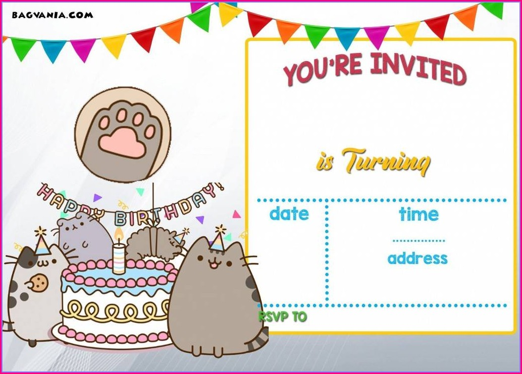 Fiesta Party Invitation Template (free Download)
