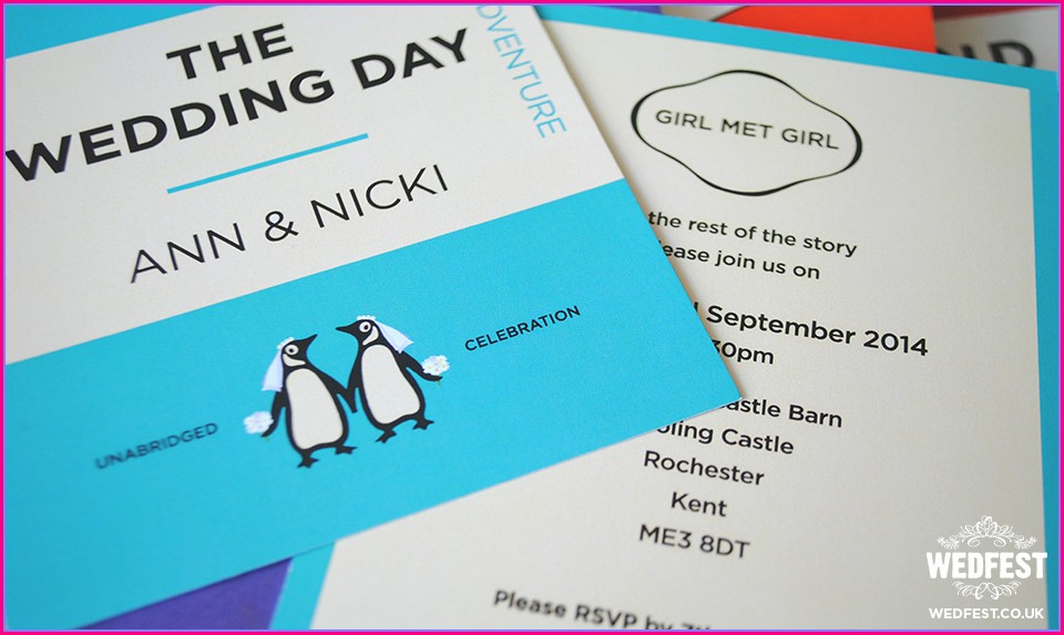Gay Wedding Invitations Uk