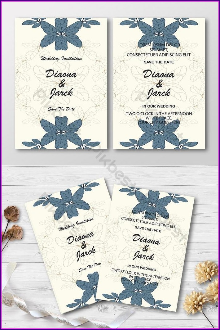 Invitation Card Background Design Free Download