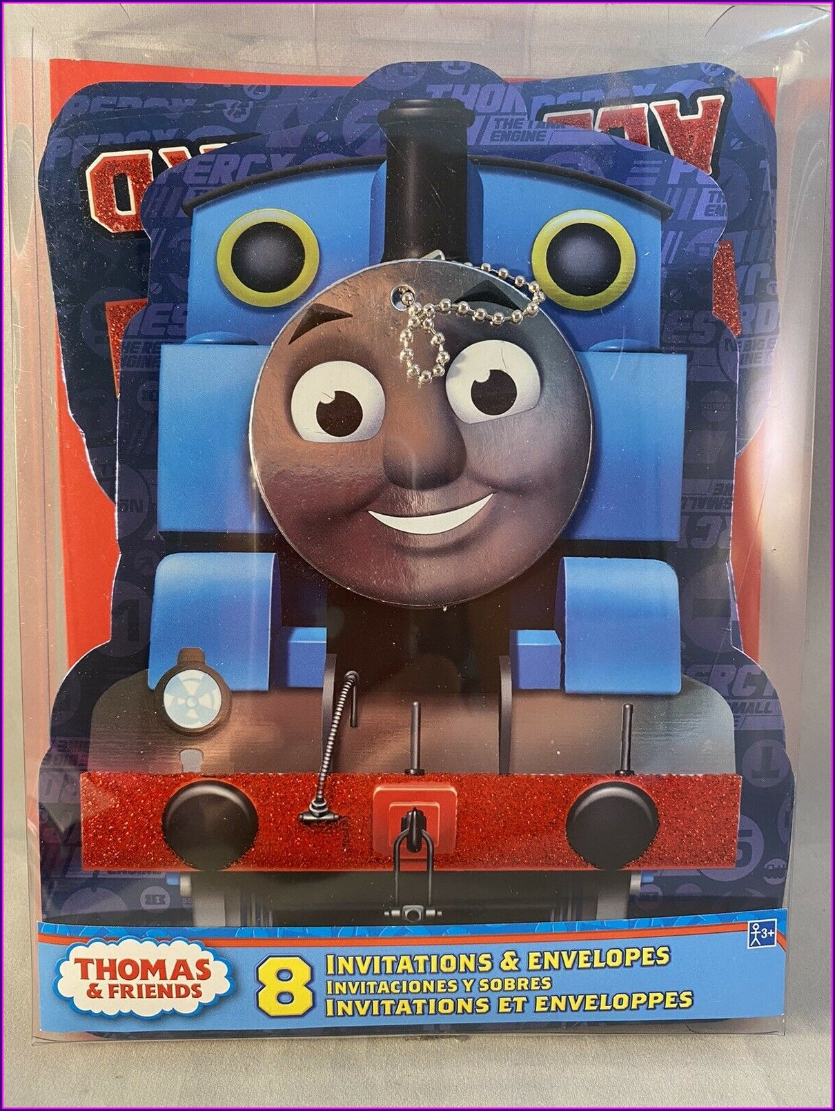 Thomas The Train Party Invitations