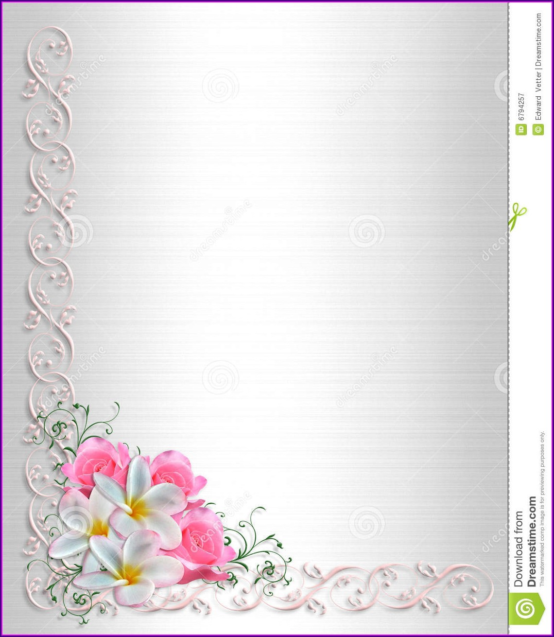 Wedding Invitation Background Designs Free Download