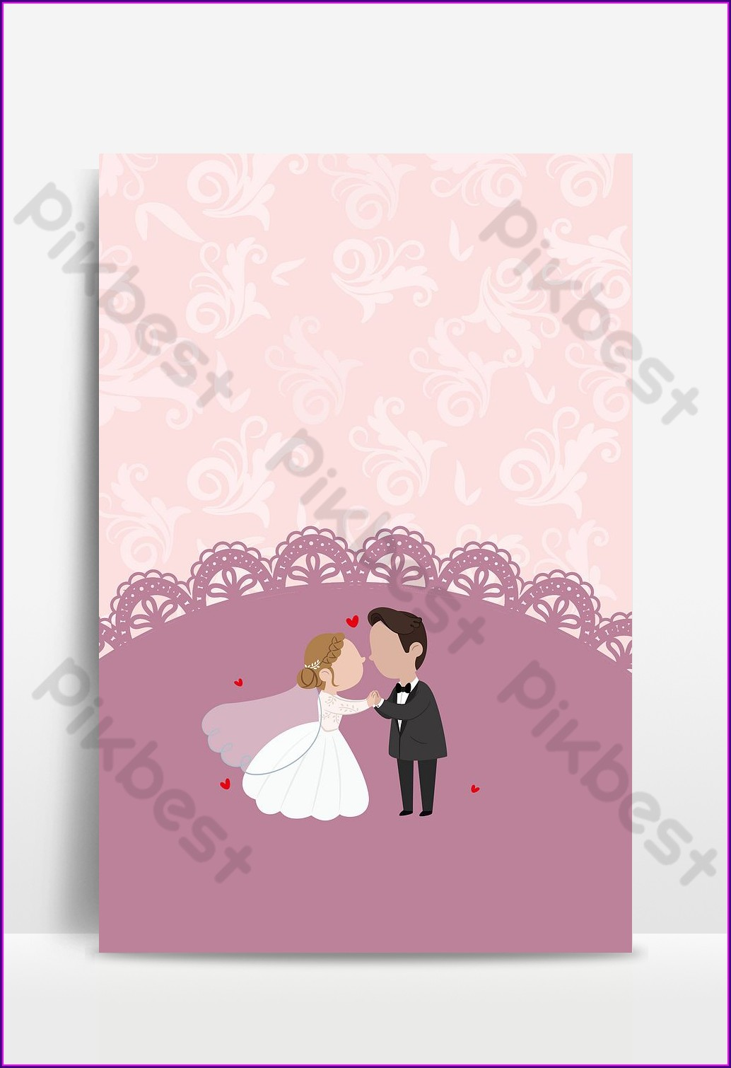 Wedding Invitation Background Vector Free Download
